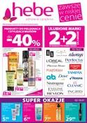 Gazetka promocyjna Hebe - Zawsze w niskiej cenie  - ważna do 16-01-2019