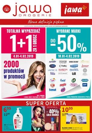 Gazetka promocyjna Jawa Drogerie, ważna od 04.01.2019 do 04.02.2019.
