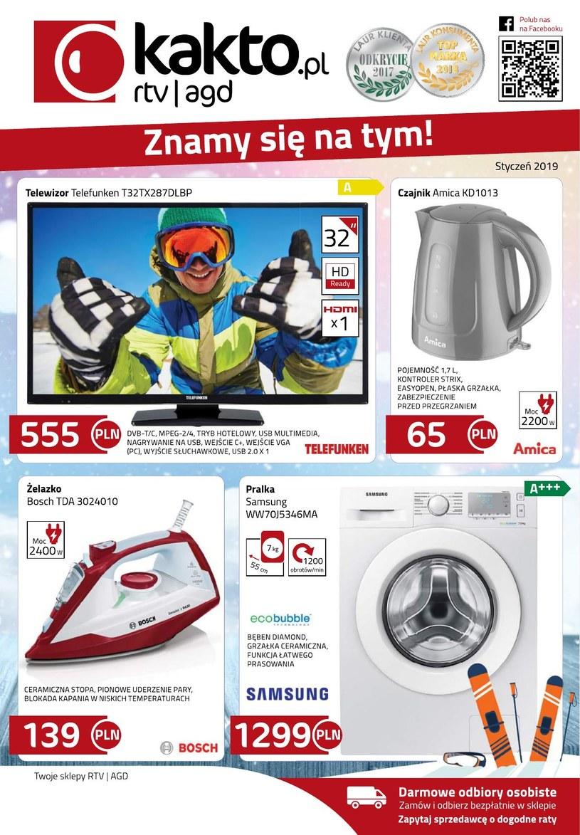 Kakto.pl: 1 gazetka