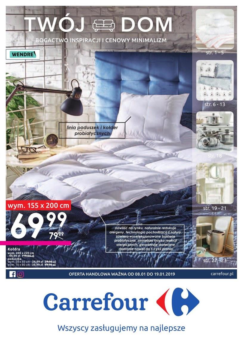Gazetka promocyjna Carrefour - ważna od 08. 01. 2019 do 19. 01. 2019