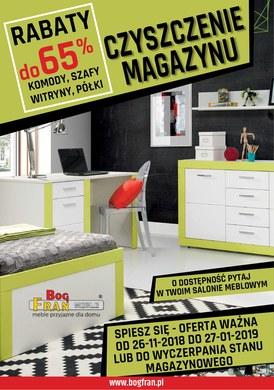 Gazetka promocyjna BOG-FRAN - Czyszczenie magazynu