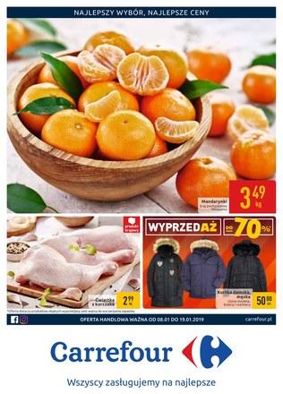 Gazetka promocyjna Carrefour, ważna od 08.01.2019 do 19.01.2019.