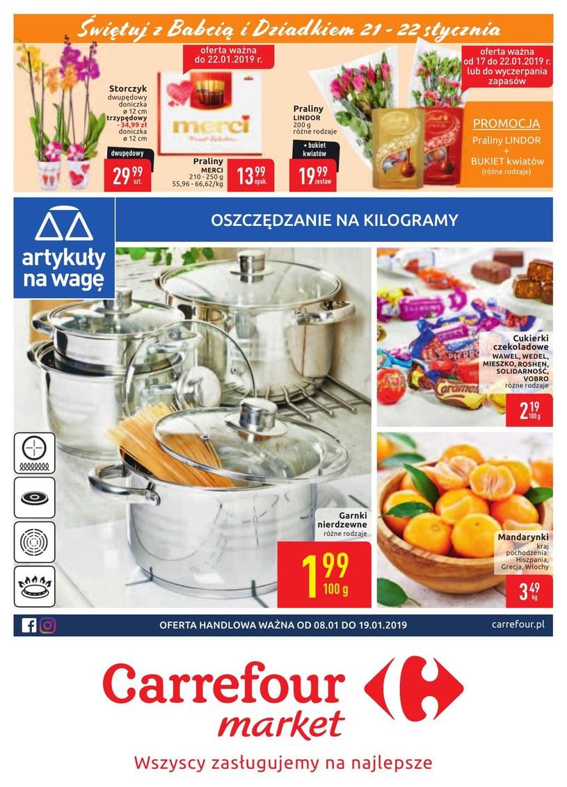 Gazetka promocyjna Carrefour Market - ważna od 08. 01. 2019 do 19. 01. 2019