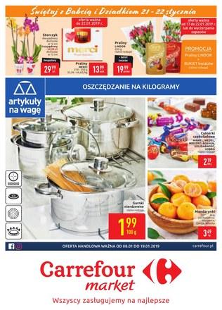 Gazetka promocyjna Carrefour Market, ważna od 08.01.2019 do 19.01.2019.