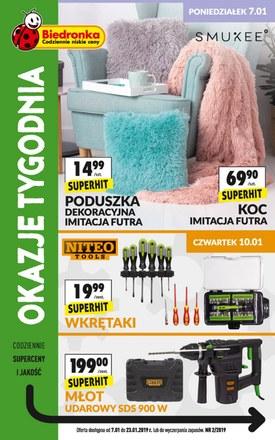 Gazetka promocyjna Biedronka, ważna od 07.01.2019 do 23.01.2019.