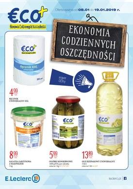 Gazetka promocyjna E.Leclerc - Ekonomia codziennych oszczędności