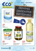 Gazetka promocyjna E.Leclerc - Ekonomia codziennych oszczędności - ważna do 19-01-2019