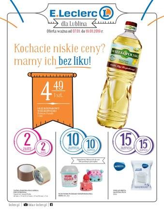Gazetka promocyjna E.Leclerc, ważna od 07.01.2019 do 19.01.2019.