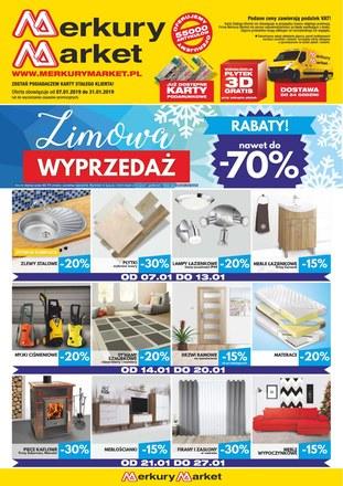 Gazetka promocyjna Merkury Market, ważna od 07.01.2019 do 31.01.2019.