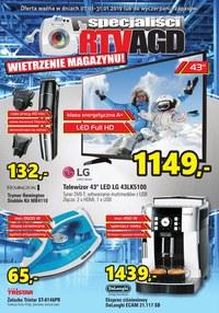 Gazetka promocyjna Specjaliści RTV AGD - Wietrzenie magazynu - ważna do 31-01-2019