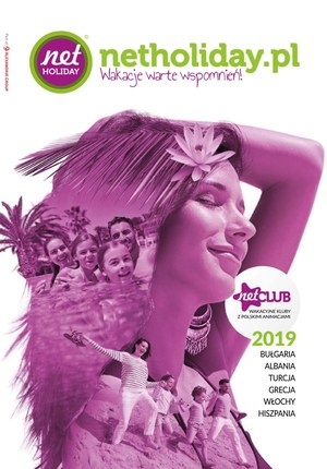 Gazetka promocyjna Net Holiday, ważna od 15.06.2019 do 30.09.2019.