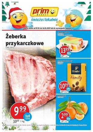 Gazetka promocyjna Prim Market, ważna od 07.01.2019 do 16.01.2019.
