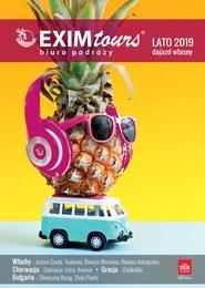 Gazetka promocyjna EXIM Tours, ważna od 07.01.2019 do 15.09.2019.