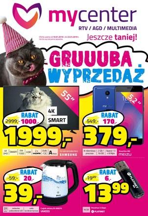 Gazetka promocyjna MyCenter, ważna od 10.01.2019 do 23.01.2019.