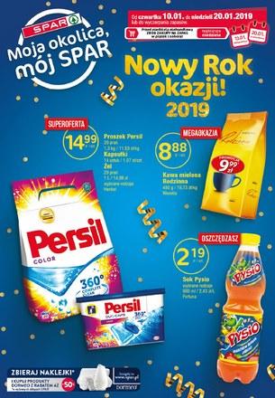 Gazetka promocyjna SPAR, ważna od 10.01.2019 do 20.01.2019.