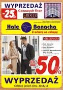 Gazetka promocyjna Hala Banacha - Wyprzedaż  - ważna do 08-02-2019