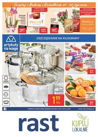 Gazetka promocyjna Rast, ważna od 08.01.2019 do 19.01.2019.