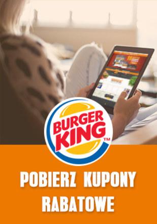 Gazetka promocyjna Burger King, ważna od 08.01.2019 do 01.04.2019.
