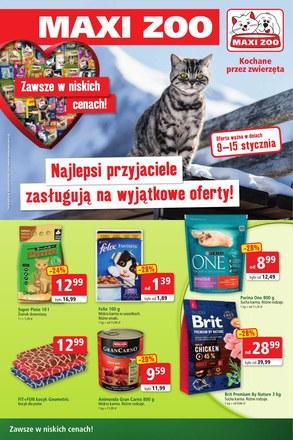 Gazetka promocyjna Maxi Zoo, ważna od 09.01.2019 do 15.01.2019.