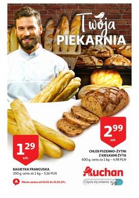 Gazetka promocyjna Auchan - Twoja piekarnia