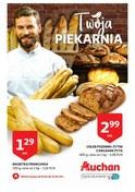 Gazetka promocyjna Auchan - Twoja piekarnia  - ważna do 23-01-2019