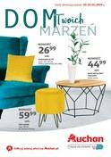 Gazetka promocyjna Auchan - Dom Twoich marzeń  - ważna do 23-01-2019