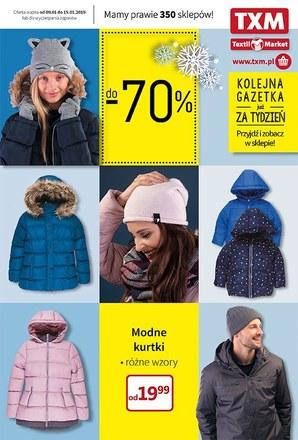 Gazetka promocyjna Textil Market, ważna od 09.01.2019 do 15.01.2019.