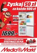 Gazetka promocyjna Media Markt - Zyskaj 50 zł - ważna do 13-01-2019