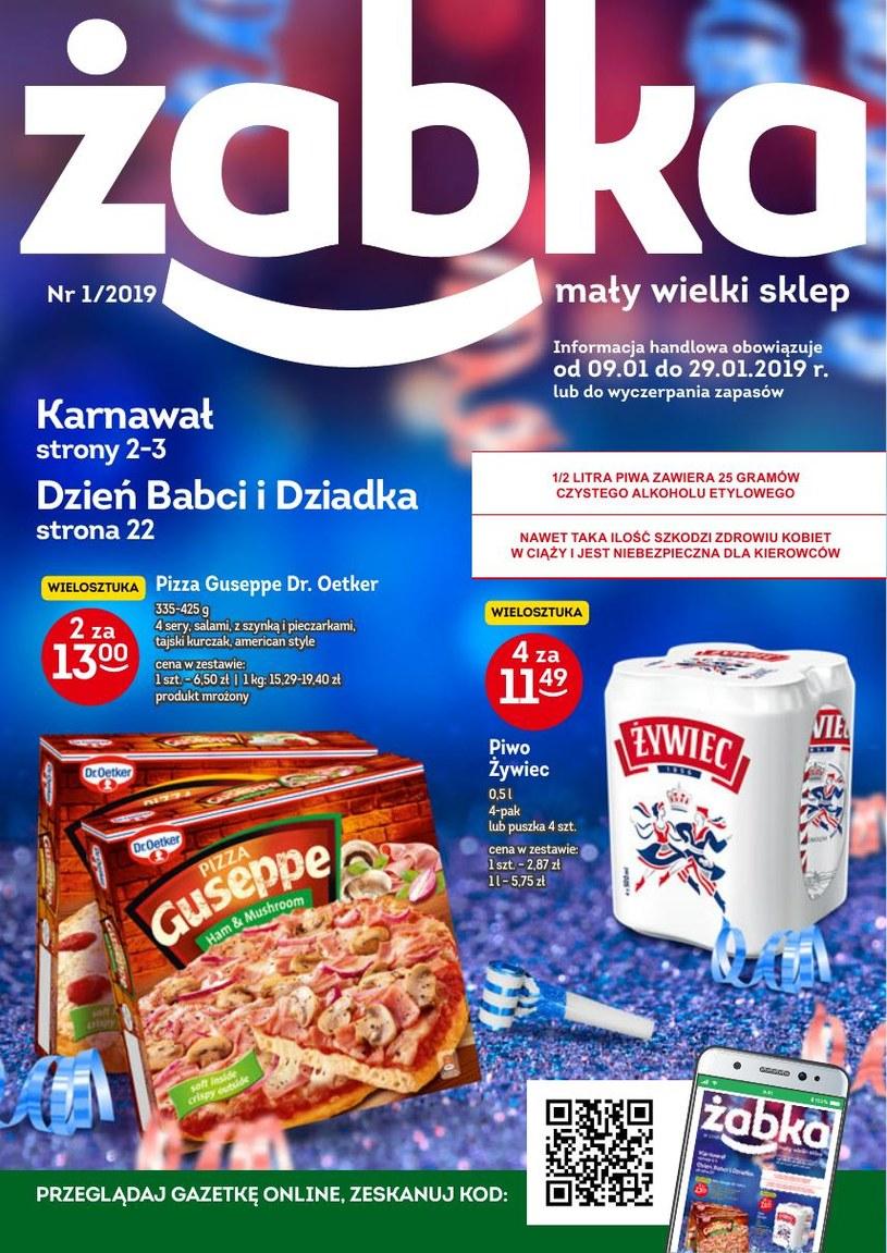 Gazetka promocyjna Żabka - ważna od 09. 01. 2019 do 29. 01. 2019