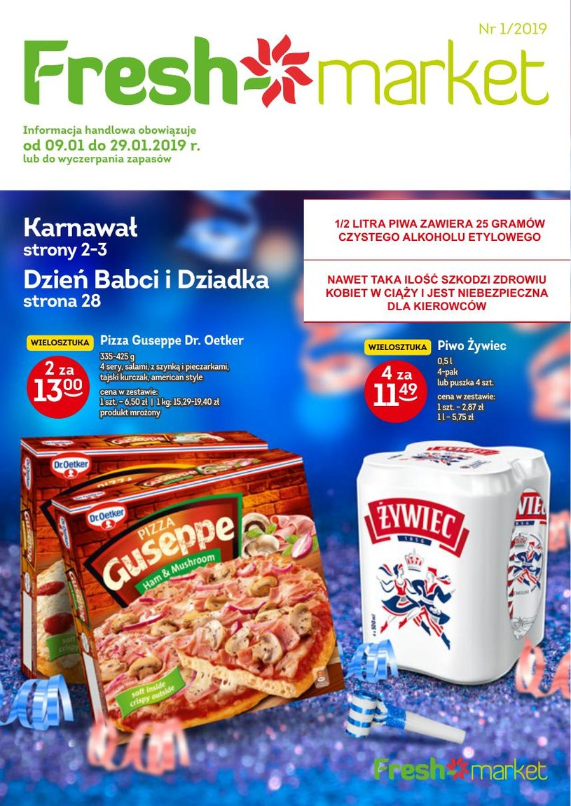 Freshmarket: 1 gazetka