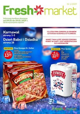 Gazetka promocyjna Freshmarket - Karnawał, Dzień Babci i Dziadka