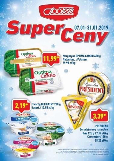 Gazetka promocyjna PSS Społem Głogów, ważna od 07.01.2019 do 31.01.2019.