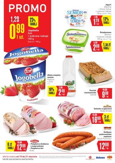 Gazetka promocyjna Intermarche Super, ważna od 15.01.2019 do 21.01.2019.