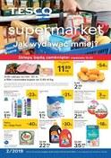 Gazetka promocyjna Tesco Supermarket - Oferta handlowa - supermarket  - ważna do 16-01-2019
