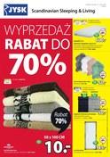 Gazetka promocyjna Jysk - Wyprzedaż rabat do 70% - ważna do 23-01-2019