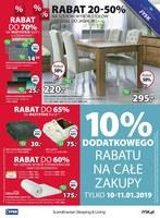 Gazetka promocyjna Jysk - Wyprzedaż rabat do 70%
