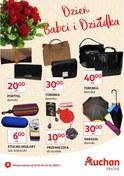 Gazetka promocyjna Auchan - Dzień Babci i Dziadka  - ważna do 22-01-2019