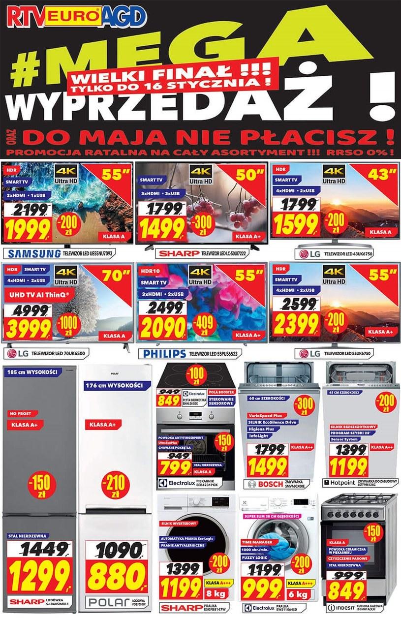 RTV EURO AGD: 3 gazetki
