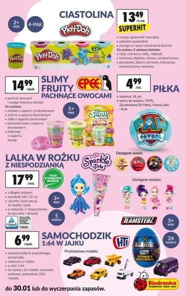 Gazetka promocyjna Biedronka, ważna od 14.01.2019 do 30.01.2019.