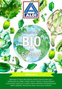 Gazetka promocyjna Aldi - Zapraszamy do świata BIO oraz Fairtrade - ważna do 31-10-2019