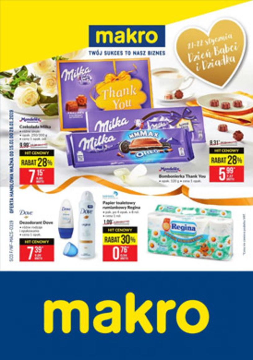 Gazetka promocyjna Makro Cash&Carry - ważna od 15. 01. 2019 do 28. 01. 2019