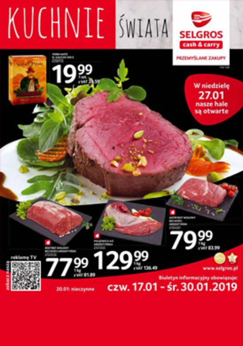 Gazetka promocyjna Selgros Cash&Carry - ważna od 17. 01. 2019 do 30. 01. 2019