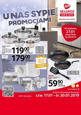 Gazetka promocyjna Selgros Cash&Carry - U nas sypie promocjami