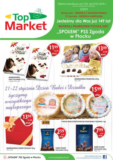 Gazetka promocyjna PSS Zgoda Płock, ważna od 17.01.2019 do 27.01.2019.