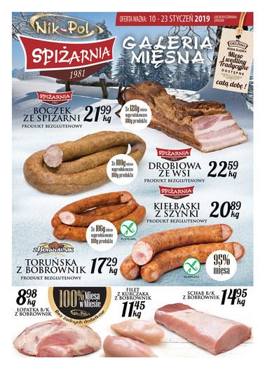Gazetka promocyjna Delisso, ważna od 10.01.2019 do 23.01.2019.