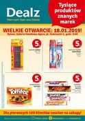 Gazetka promocyjna Dealz - Wielkie otwarcie - Bytom  - ważna do 23-01-2019