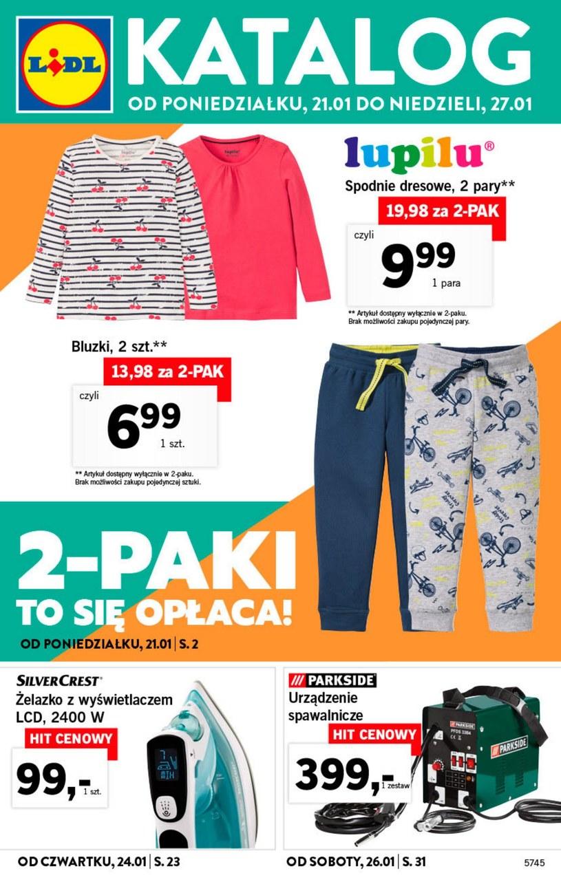Gazetka promocyjna Lidl - ważna od 21. 01. 2019 do 27. 01. 2019