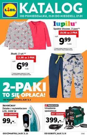 Gazetka promocyjna Lidl, ważna od 21.01.2019 do 27.01.2019.