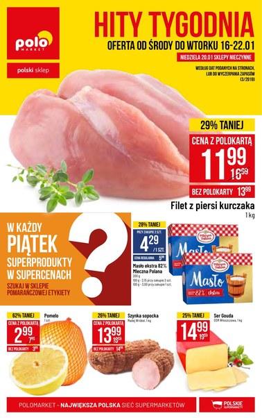 Gazetka promocyjna POLOmarket, ważna od 16.01.2019 do 22.01.2019.