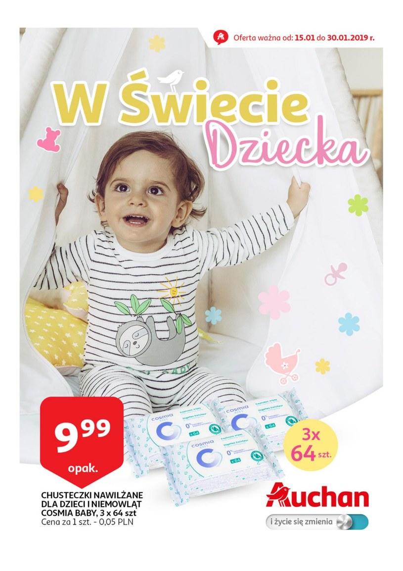Gazetka promocyjna Auchan - ważna od 15. 01. 2019 do 30. 01. 2019